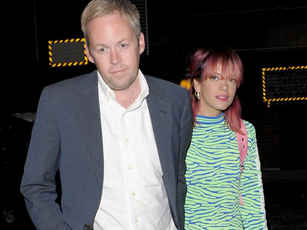 Lily Allen und Sam Cooper