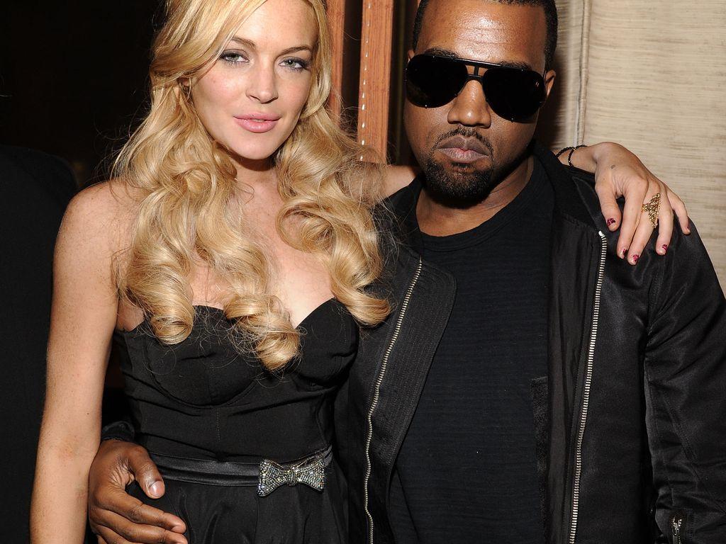 Kanye West und Lindsay Lohan