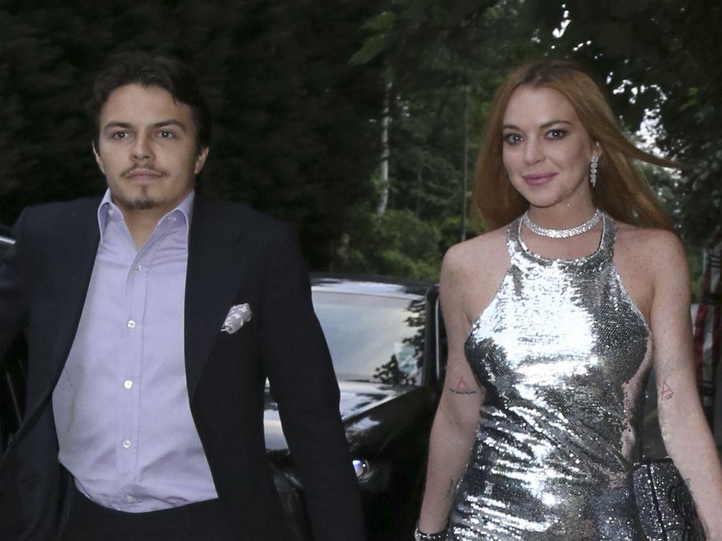 Lindsay Lohan und Egor Tarabasov beim Geburtstag von Lilly Becker
