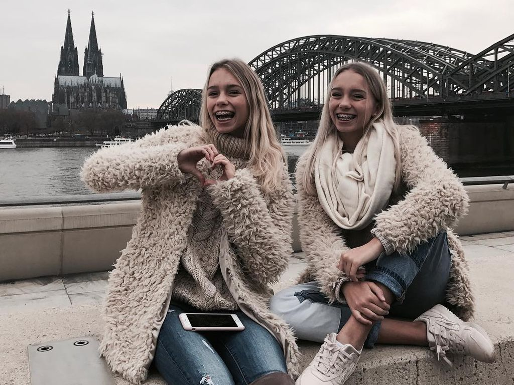 Lisa und Lena, Instagram-Stars