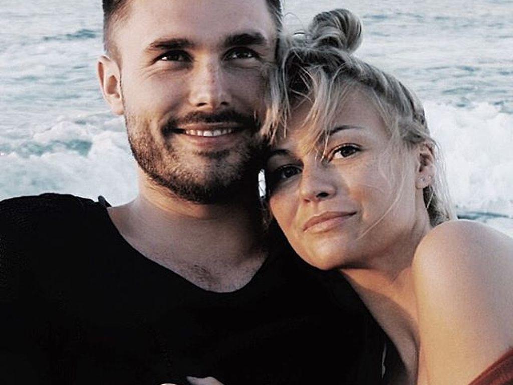 Louisa Mazzurana und ihr Freund Fabian Wetter
