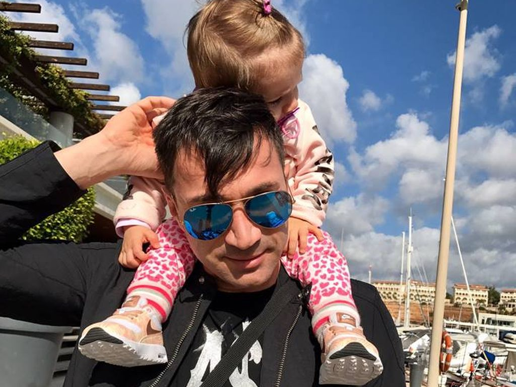 Sänger Lucas Cordalis mit Tochter Sophia