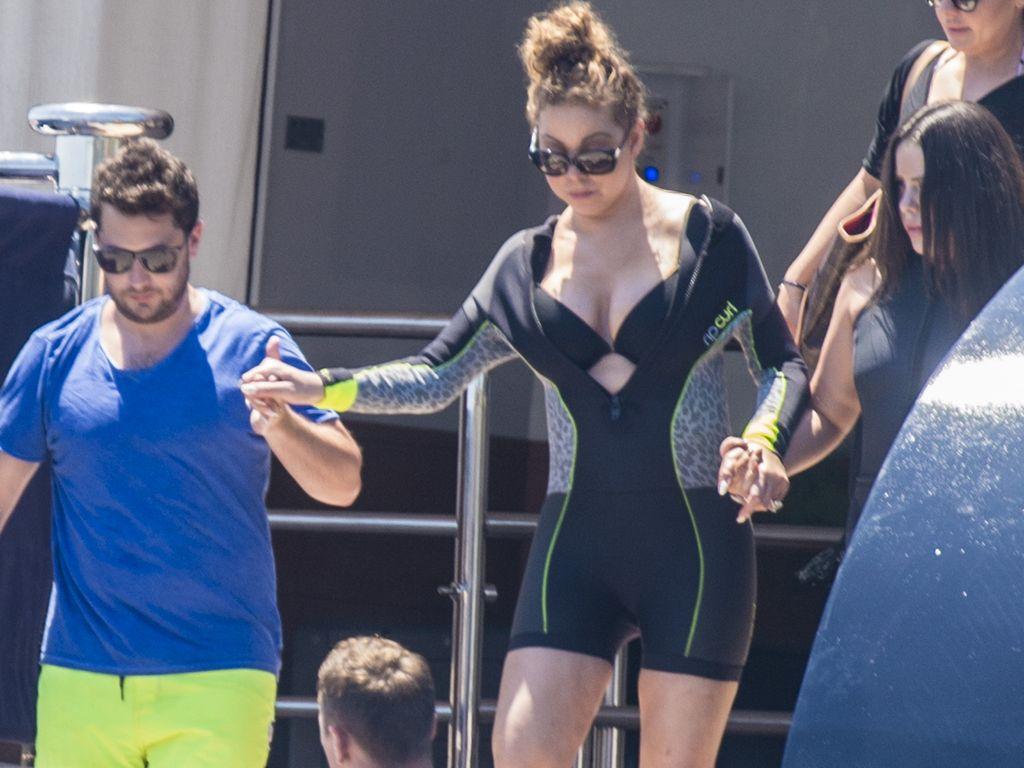 Mariah Carey im Italien-Urlaub