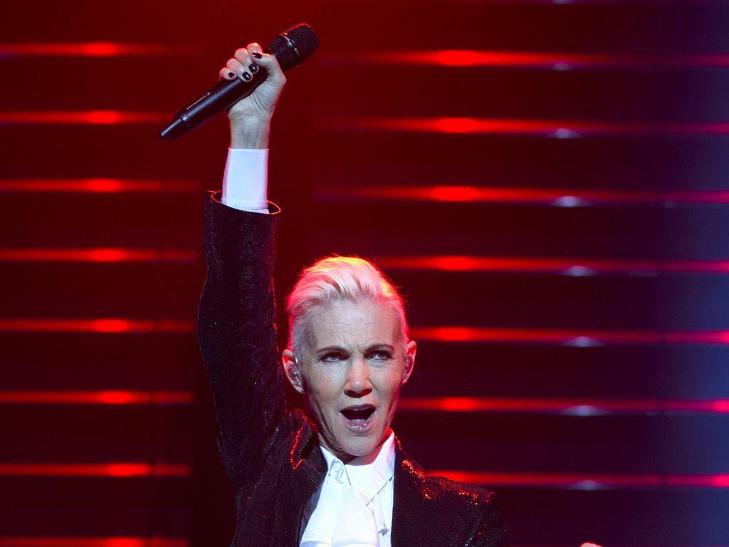 Marie Fredriksson, Frontfrau der Band Roxette