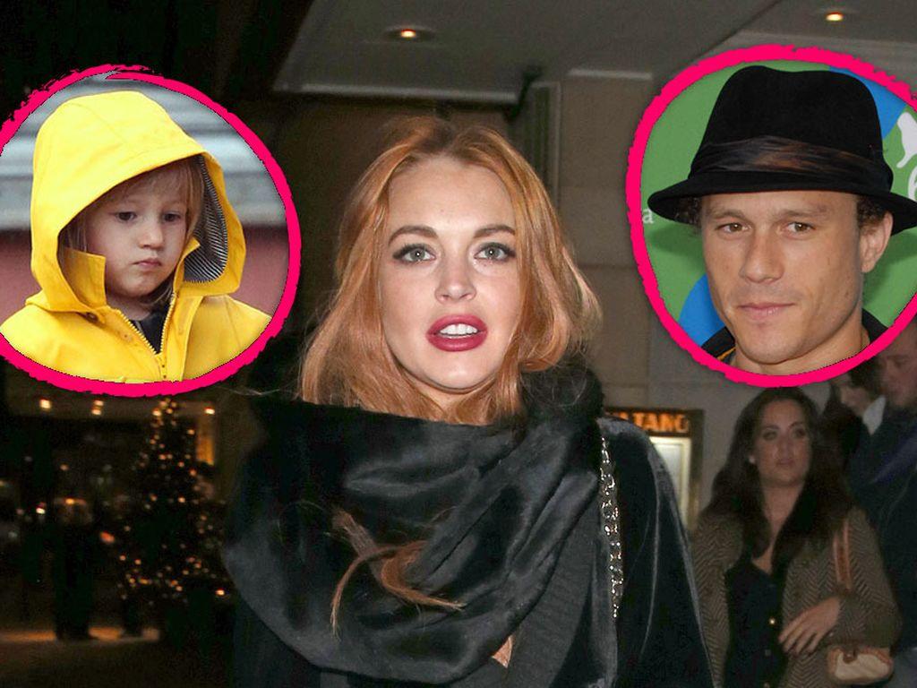 Lindsay Lohan und Heath Ledger