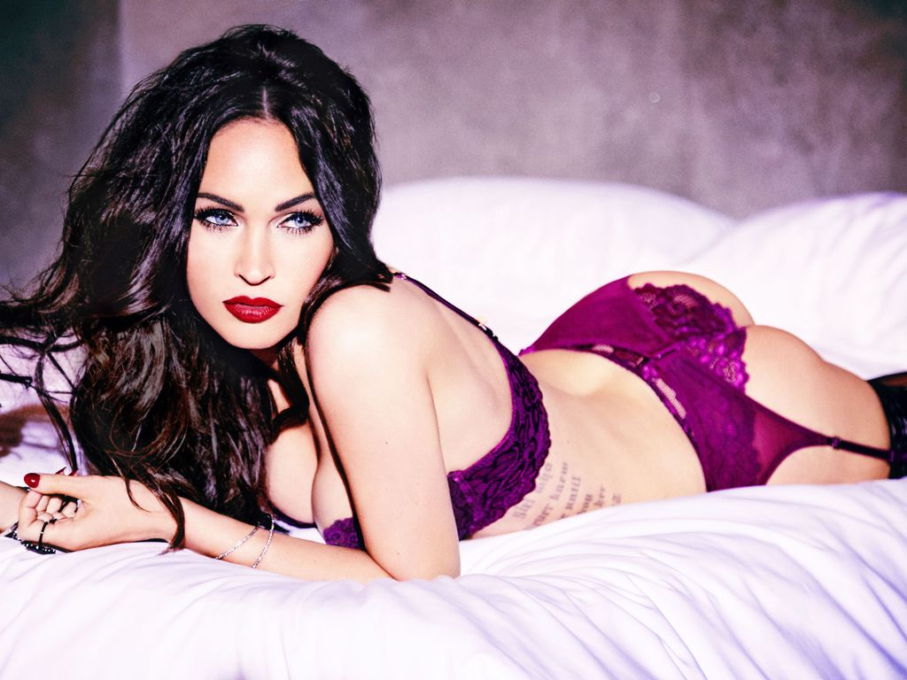 "Megan Fox in Unterwäsche für ""Frederick's of Hollywood"""
