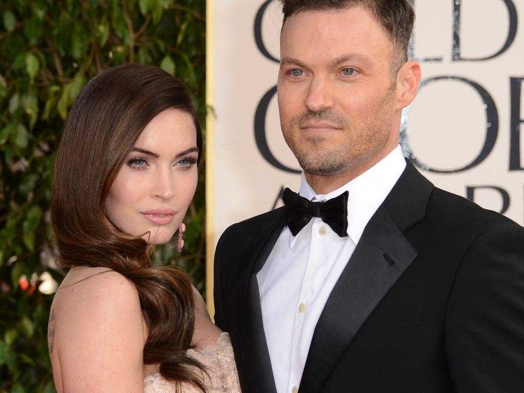Megan Fox und Brian Austin Green bei den Golden Globes