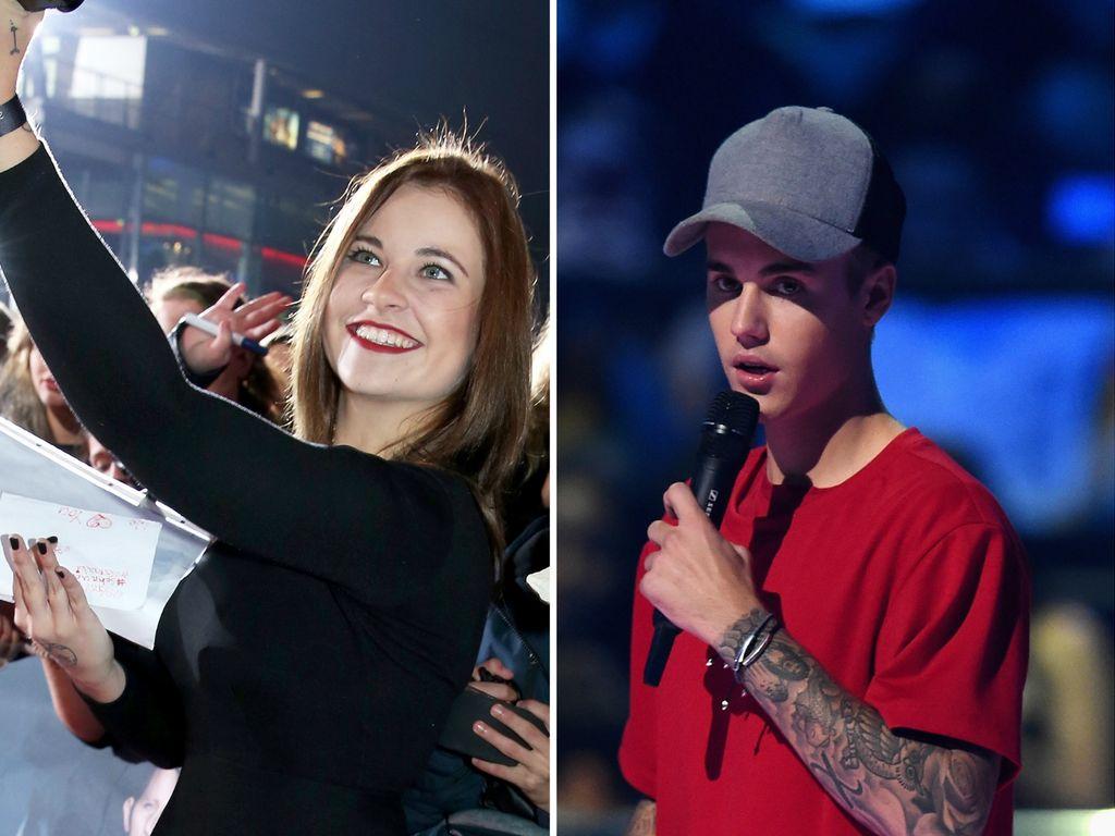 Melina Sophie und Justin Bieber