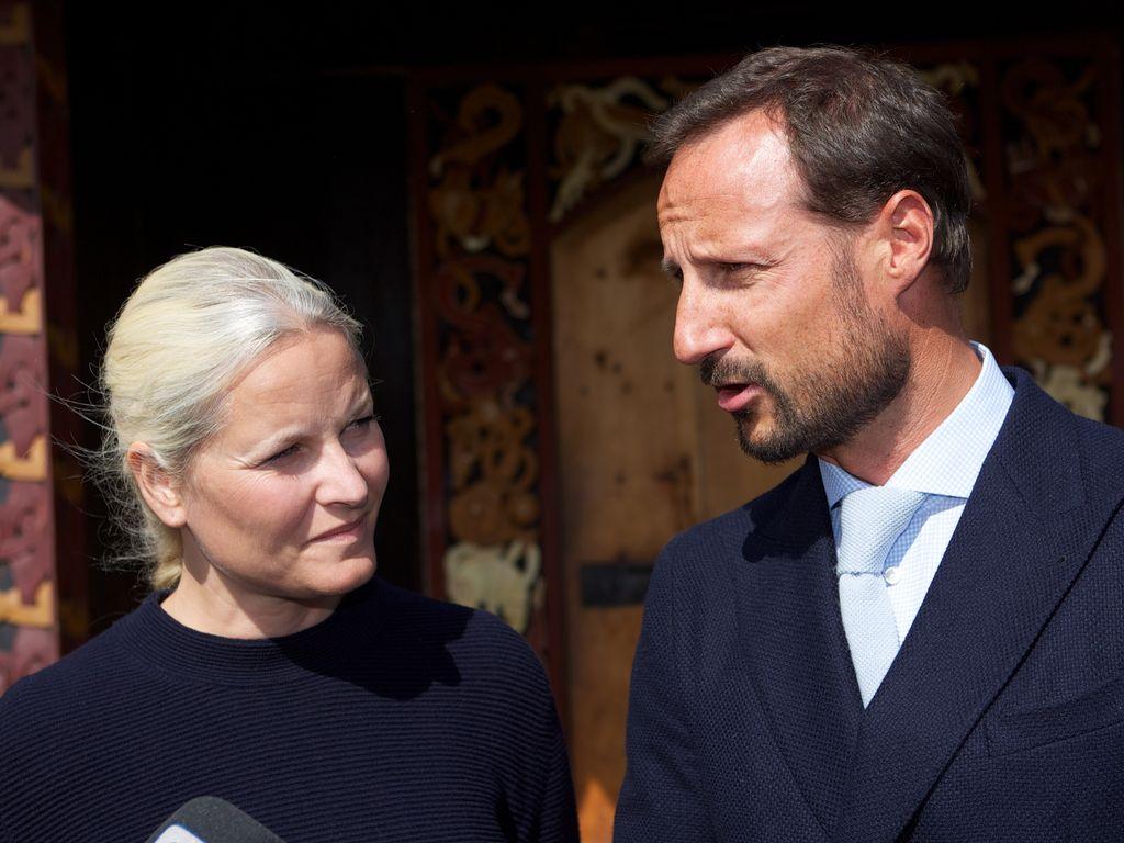 Mette-Marit und Haakon