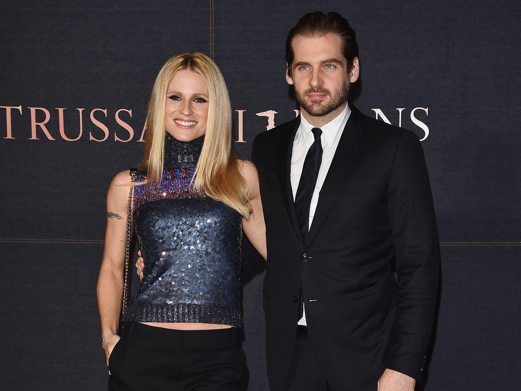 Michelle Hunziker und Tomaso Trussardi bei Trussardi Jeans Event