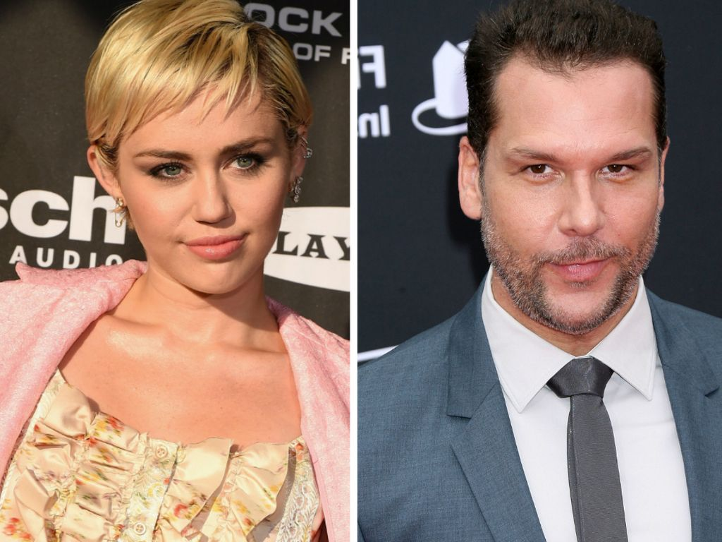 Miley Cyrus und Dane Cook