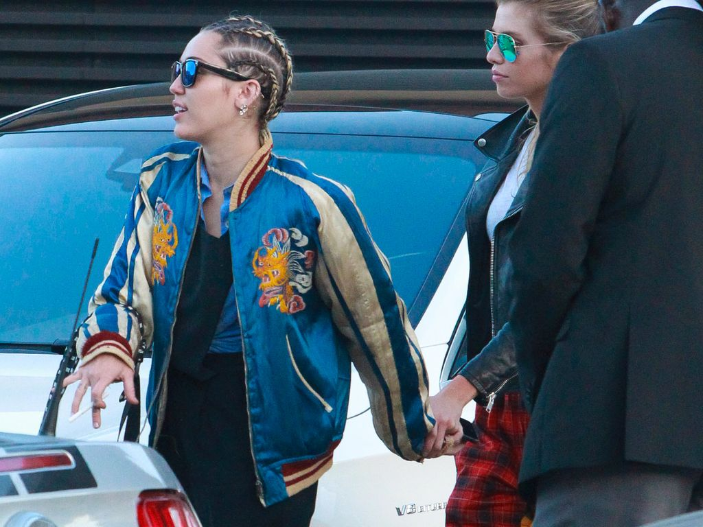 Miley Cyrus und Stella Maxwell