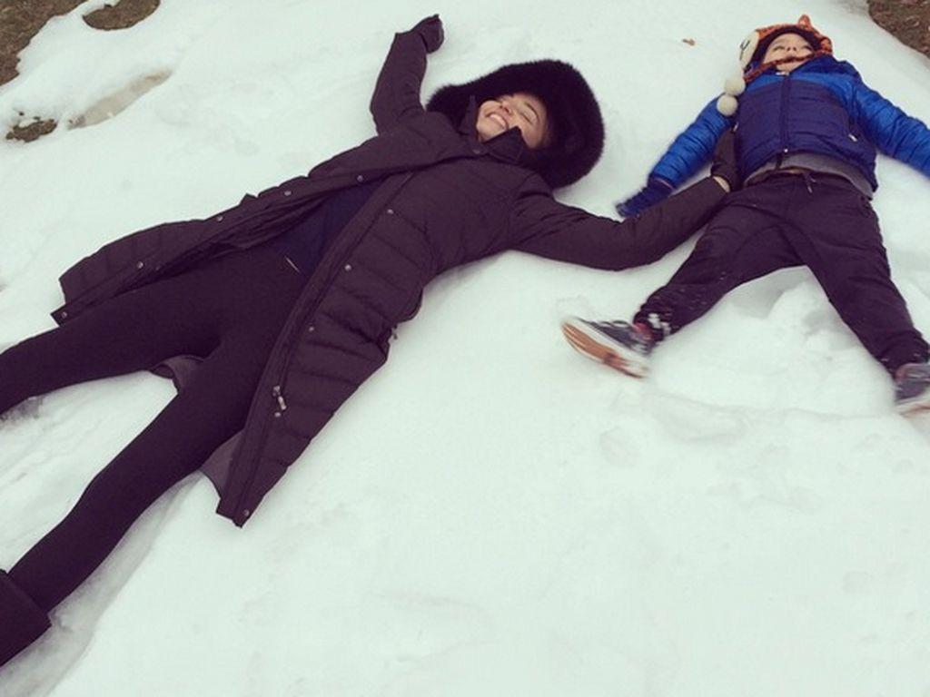 Miranda Kerr und Flynn Bloom