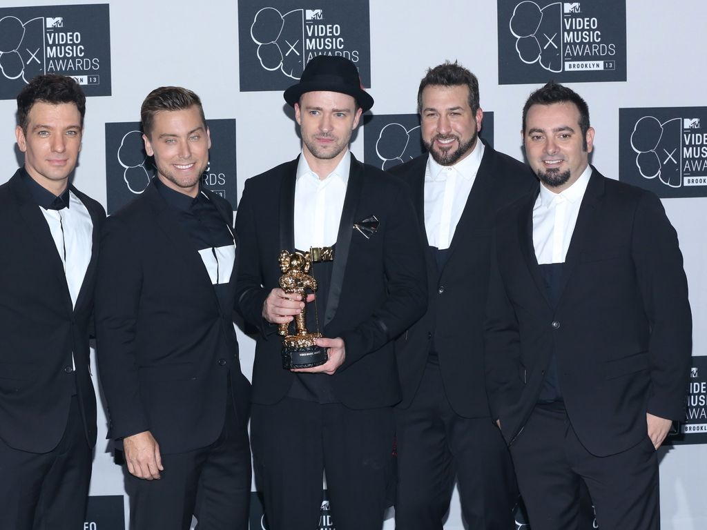 *N Sync-Reunion mit Justin Timberlake bei den MTV Video Music Awards 2013