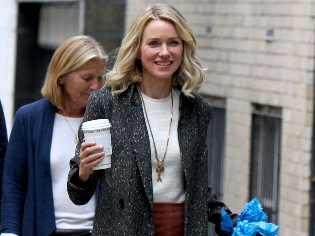 "Naomi Watts am Set ihrer Serie ""Gypsy"" in New York"
