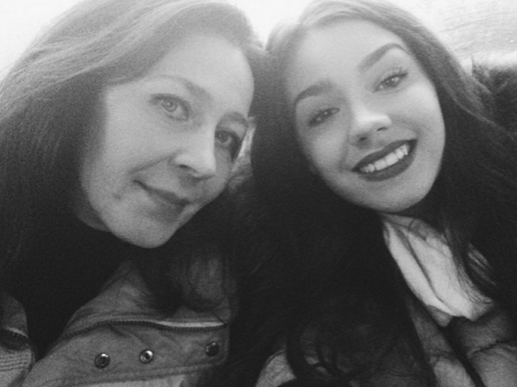 Nathalie Volk und ihre Mutter Viktoria Volk