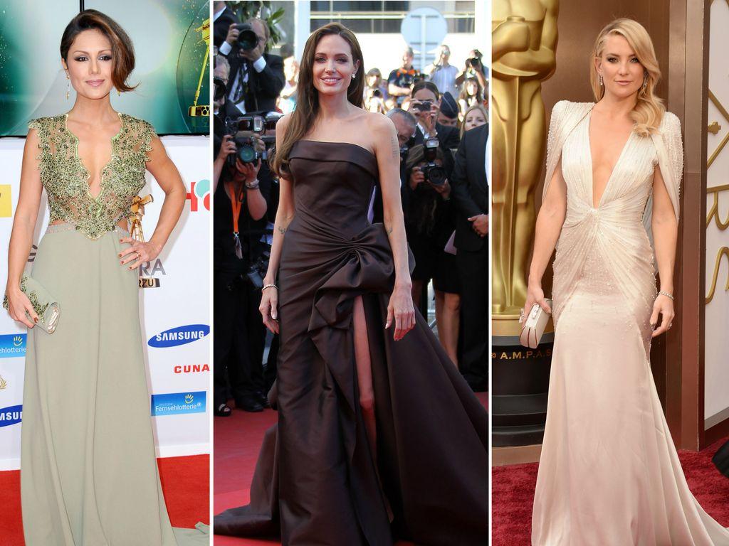Nazan Eckes, Kate Hudson und Angelina Jolie