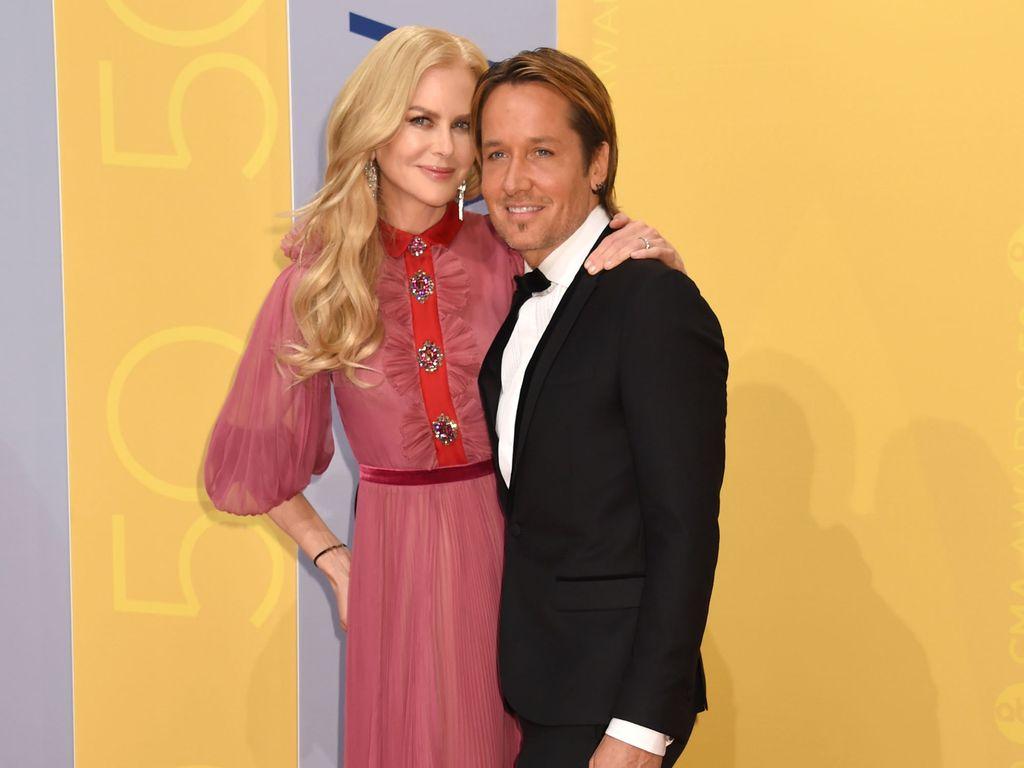 Nicole Kidman und Keith Urban bei den Country Music Awards 2016 in Nashville