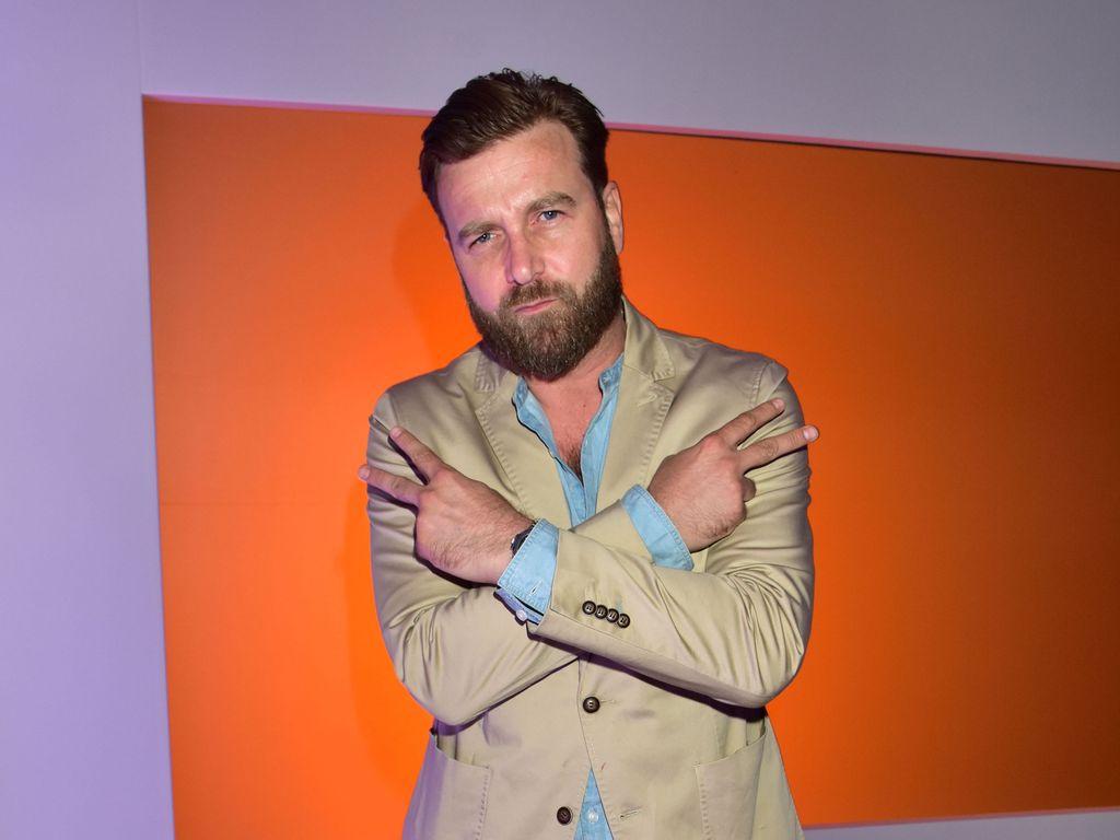 Niels Ruf bei der Berliner Fashion Week