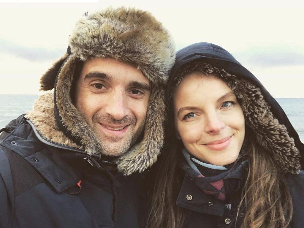 Oliver Wnuk und Yvonne Catterfeld im Sylt-Urlaub