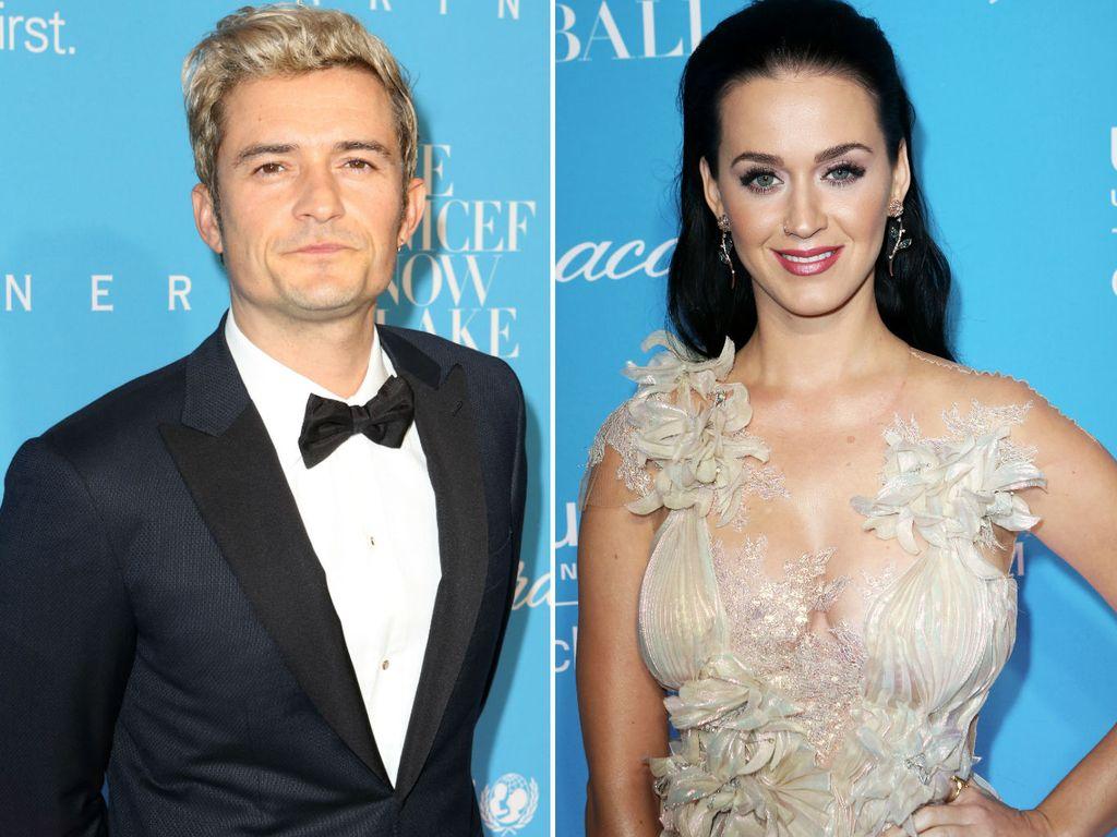 "Orlando Bloom und Katy Perry beim ""UNICEF Snowflake""-Ball in New York"