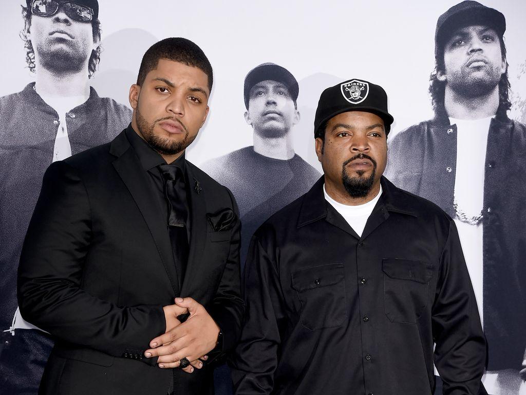 Ice Cube und O'Shea Jackson Jr.
