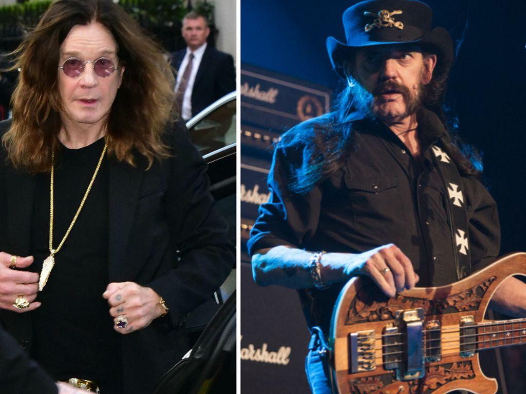Ozzy Osbourne und Lemmy Kilmister