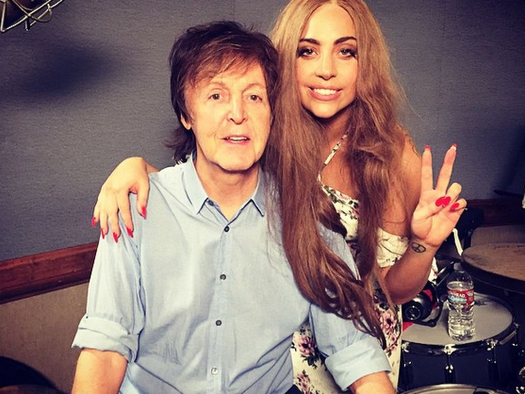 Lady GaGa und Paul McCartney