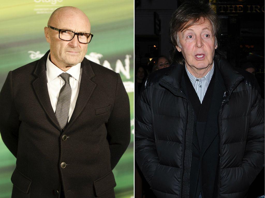 Phil Collins und Paul McCartney
