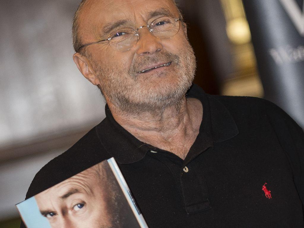 Phil Collins promotet seine Autobiografie