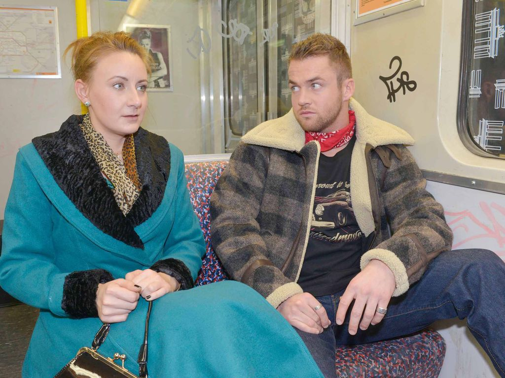 Philipp Stehler und Luise Schubert
