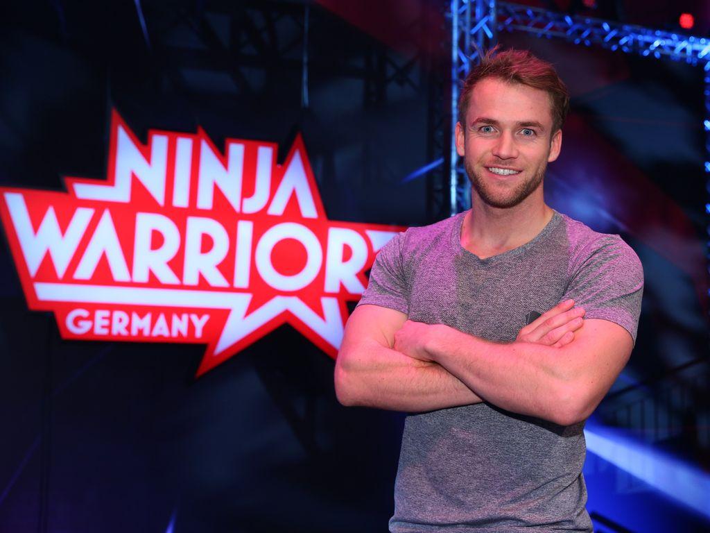 Bachelorette-Teilnehmer Philipp Stehler bei Ninja Warrior Germany