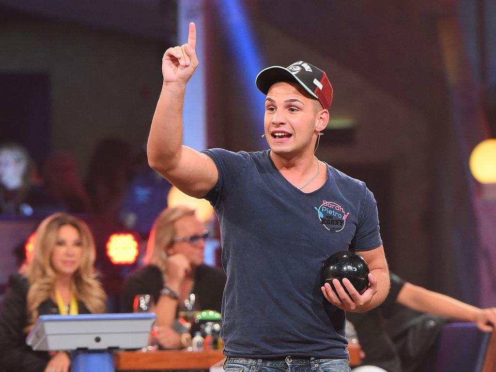 """Pietro Lombardi bei """"Der große RTL II Promi-Kegelabend"""" in Winterberg"""