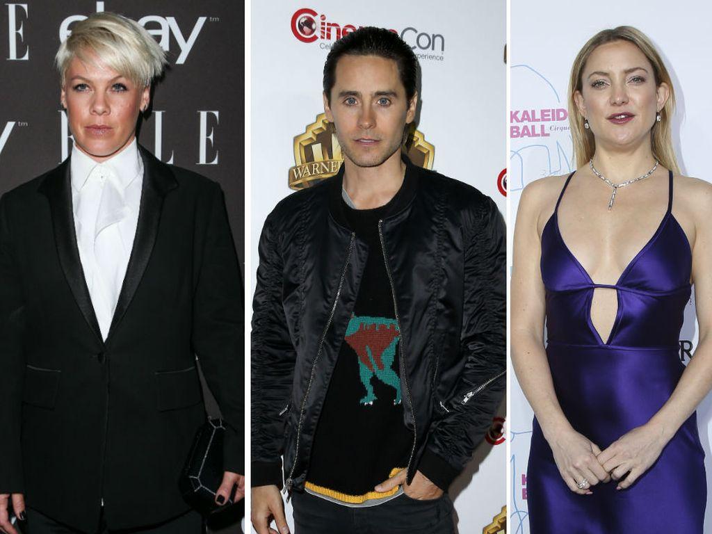 Pink, Jared Leto und Kate Hudson
