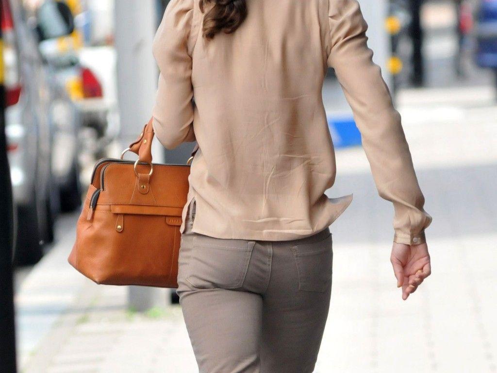 Pippa Middletons Po: Auch in Hose ein Hingucker
