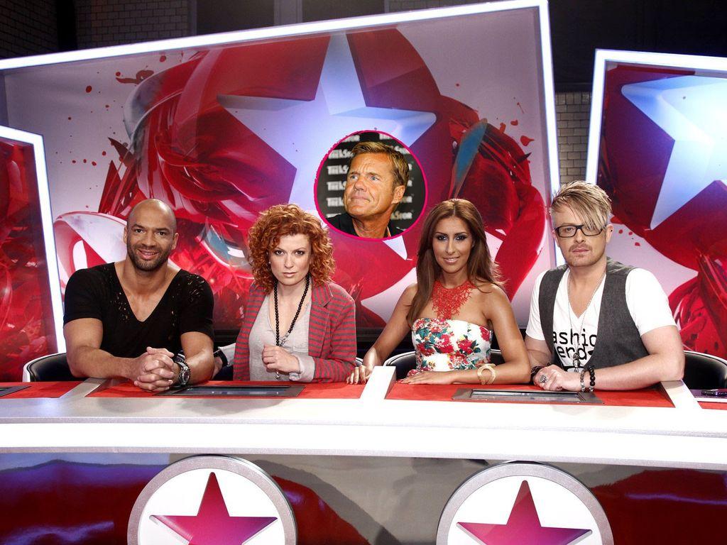 Popstars Jury und Dieter Bohlen