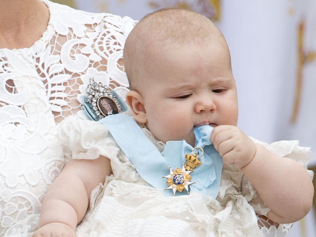 Prinz Alexander von Schweden bei seiner Taufe im September 2016