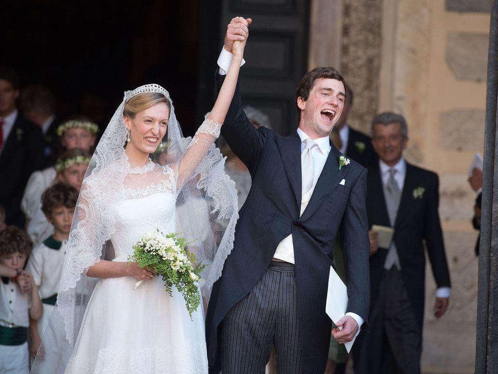 Prinzessin Elisabetta Maria Rosboch von Wolkenstein und Prinz Amedeo von Belgien