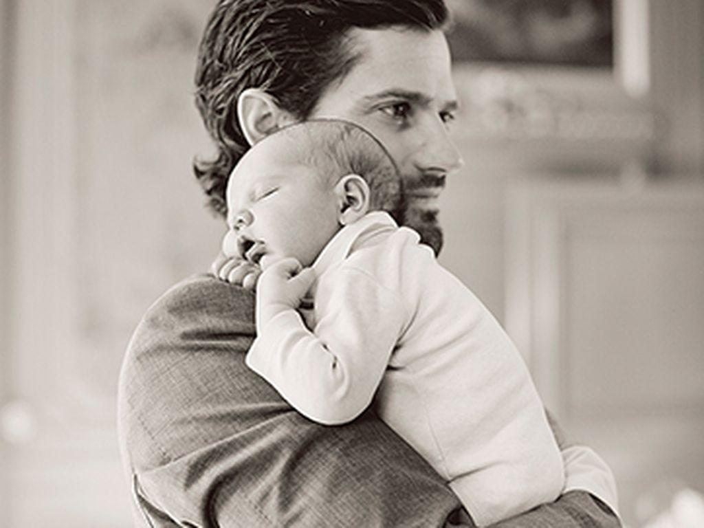 Prinz Carl Philip von Schweden und sein Sohn Alexander