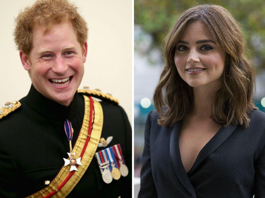 Prinz Harry und Jenna Coleman