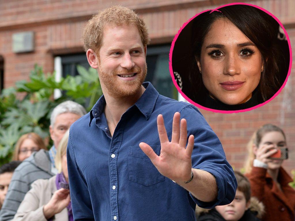 Prinz Harry und Schauspielerin Meghan Markle