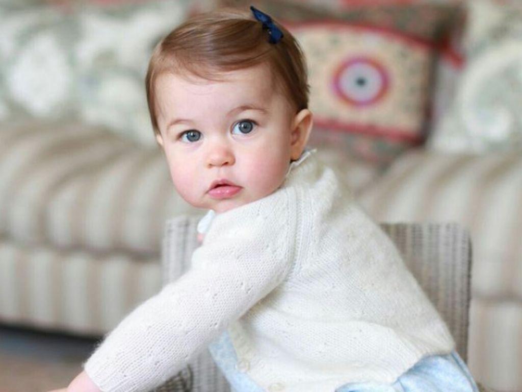 Prinzessin Charlotte im Mai 2016