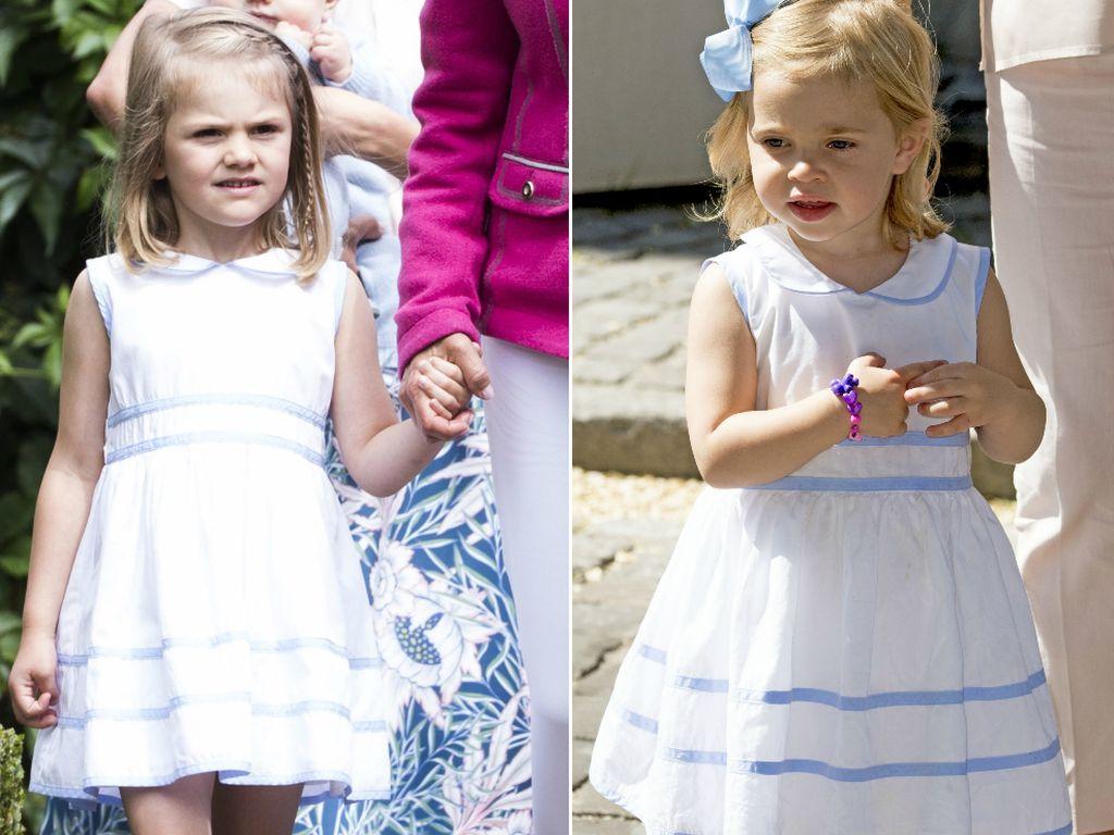 Prinzessin Estelle und Prinzessin Leonore von Schweden