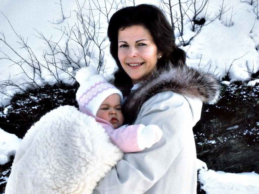 Madeleine von Schweden und Königin Silvia von Schweden