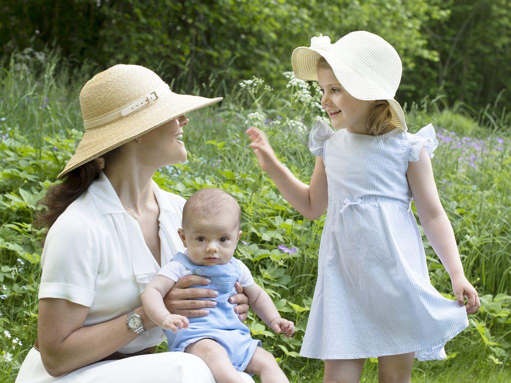 Prinz Oscar von Schweden, Prinzessin Estelle von Schweden, Prinzessin Victoria von Schweden