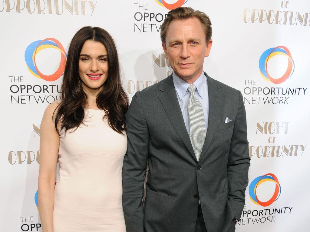 Daniel Craig und Rachel Weisz