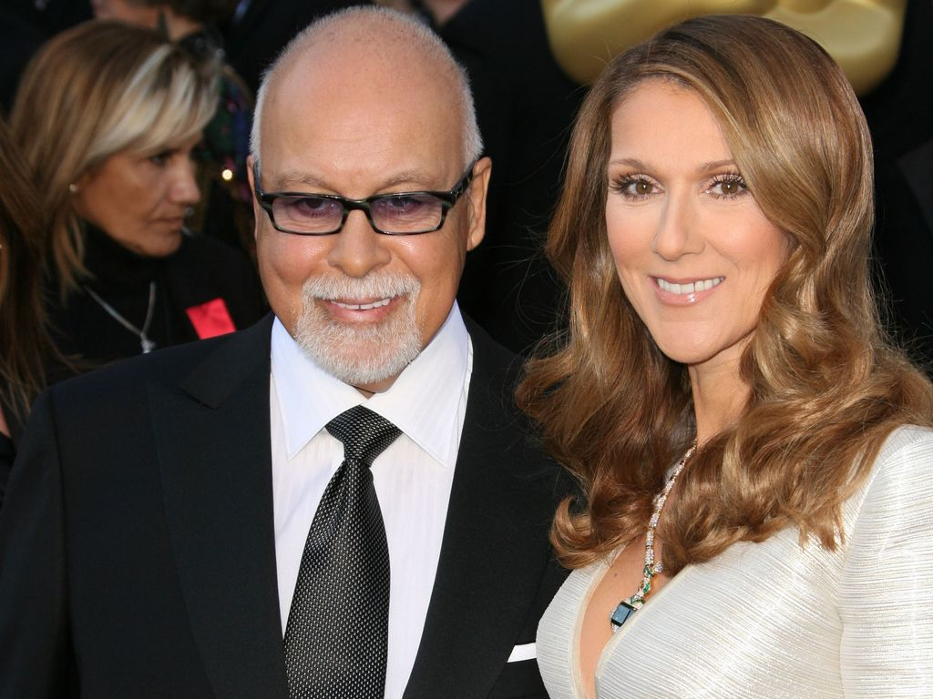 René Angélil und Céline Dion bei der Oscar-Verleihung 2011