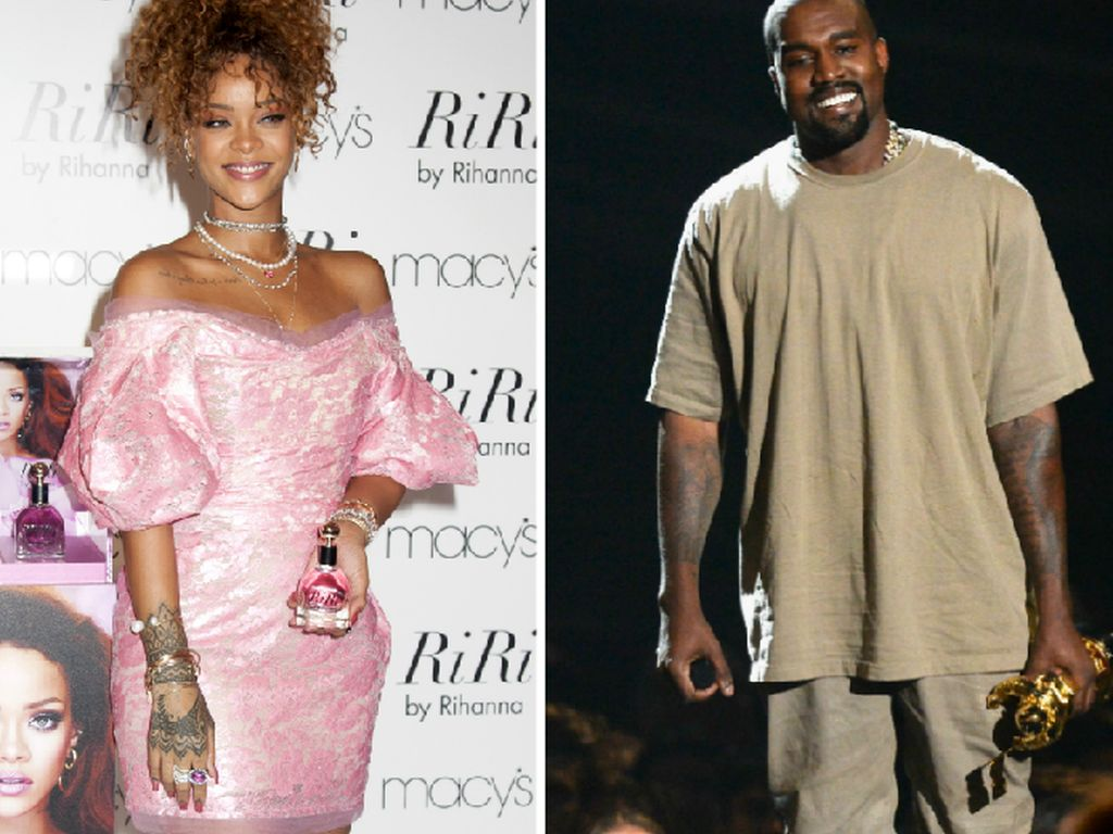 Kanye West und Rihanna