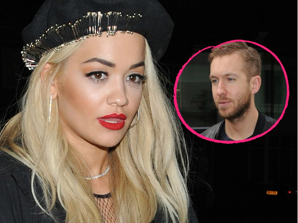 Calvin Harris und Rita Ora