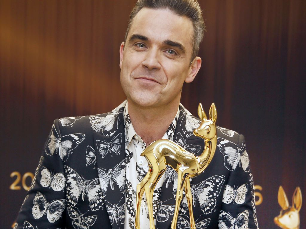Robbie Williams bei der 68. Bambi-Verleihung in Berlin
